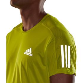 adidas OWN The Run Koszulka z krótkim rękawem Mężczyźni, żółty